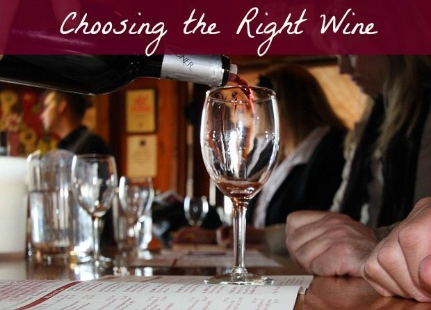 choosing the right wine