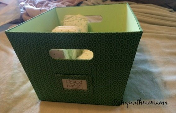 Quilted Koala Fabric Storage Bins