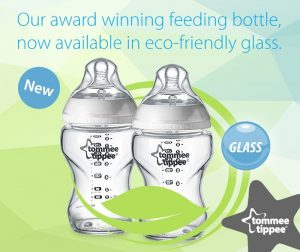 Tommee Tippee Closer to Nature Glass Bottles
