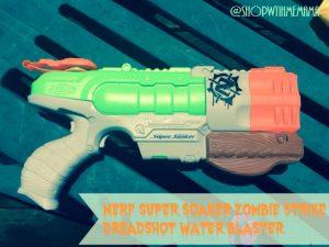 NERF Super Soaker Zombie Strike Dreadshot Water Blaster
