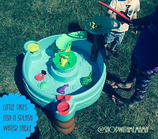 Inflatable Water Slides While Pregnant: Little Tikes Fish N Splash Water Table