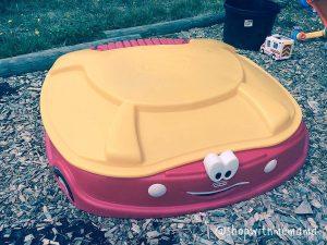 Little Tikes Cozy Coupe sandboxes