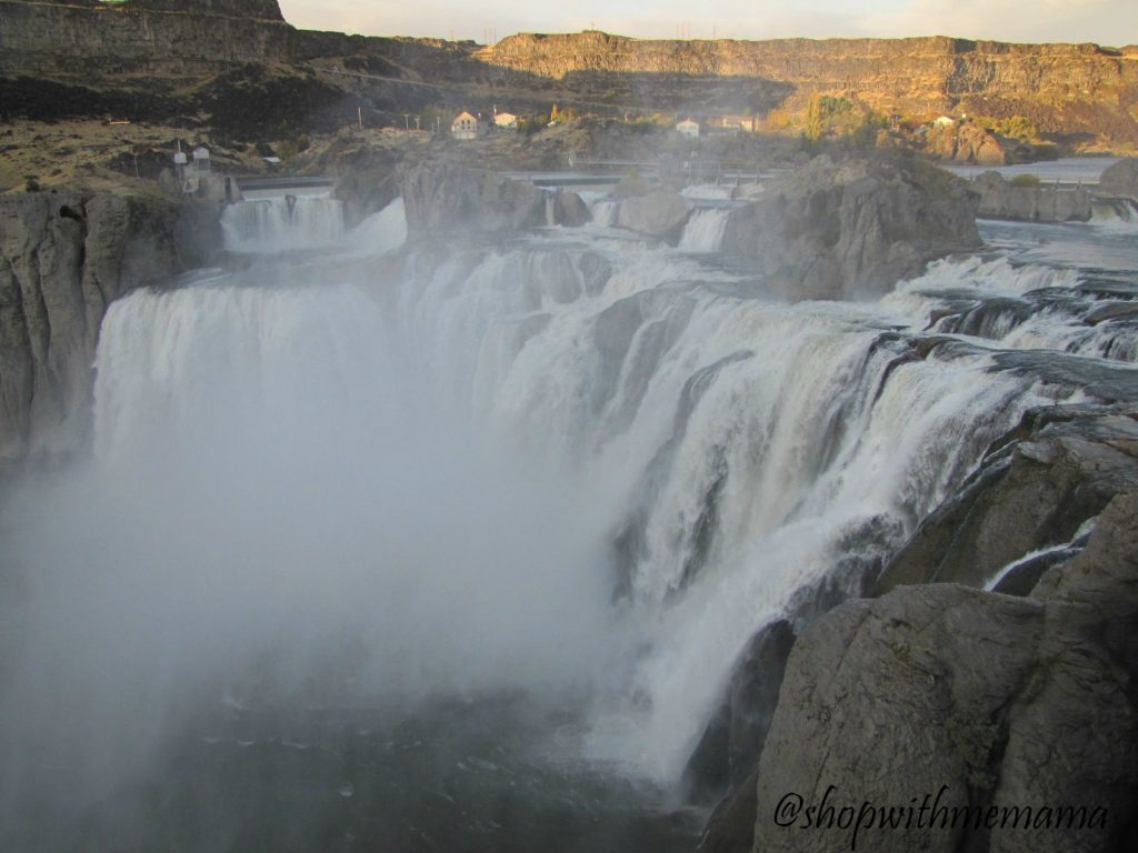Shoshone Falls on the Snake River