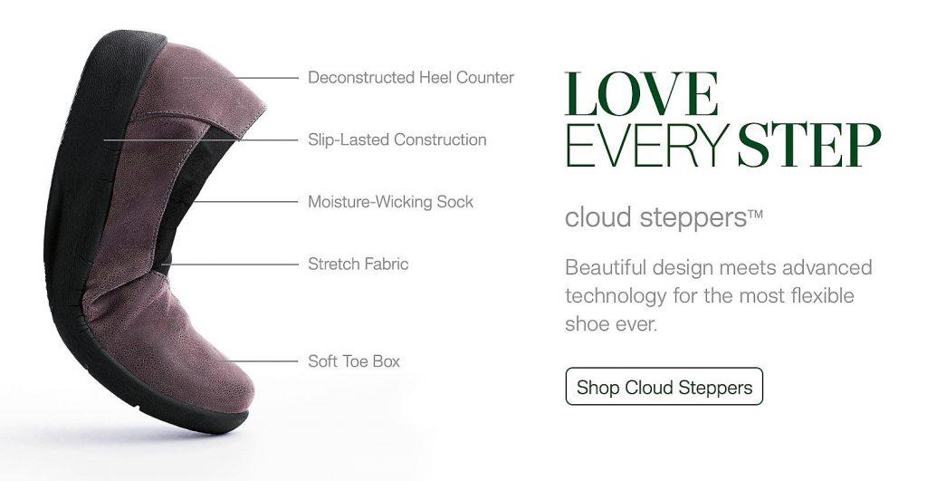 Clarks Cloudsteppers-