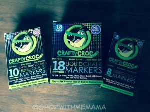 Get Crafty This Fall With CraftyCroc Liquid Chalk Markers! (Giveaway)