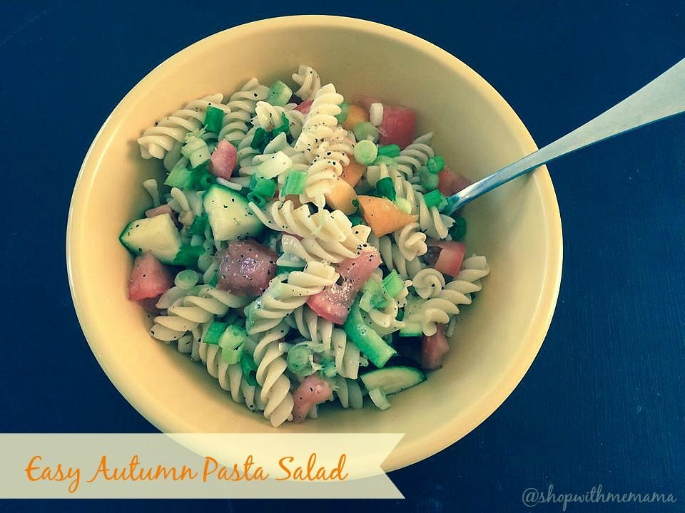 side dish of pasta