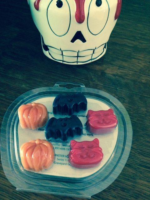 skull halloween wax warmer
