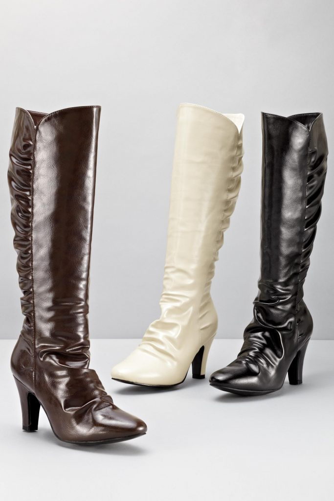 Women's Tall Boots Ruched