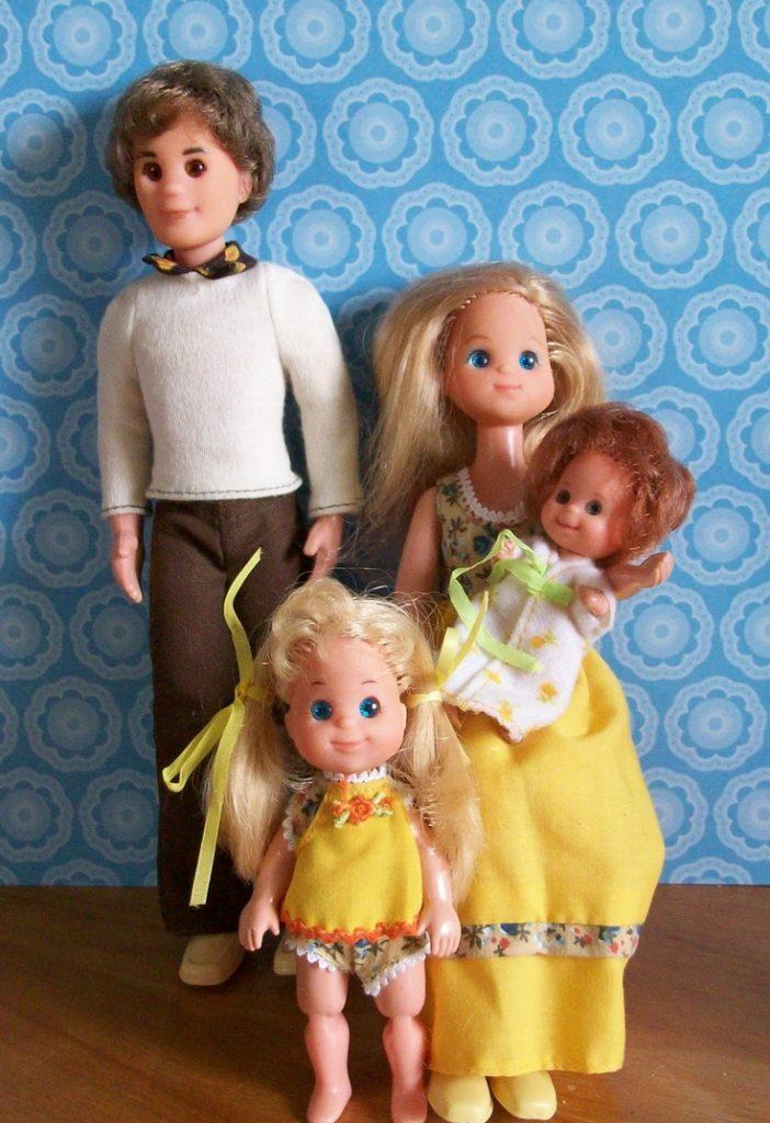 The Sunshine Family Vintage Dolls