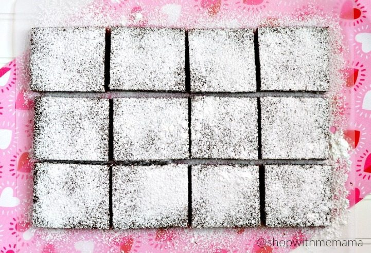 How To Make Heart Shaped Brownies With Cherry Filling