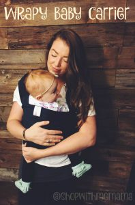 How To Use The Wrapy Baby Carrier (Giveaway)