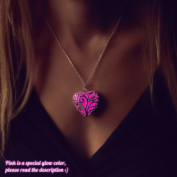 Pink Glowing Necklace