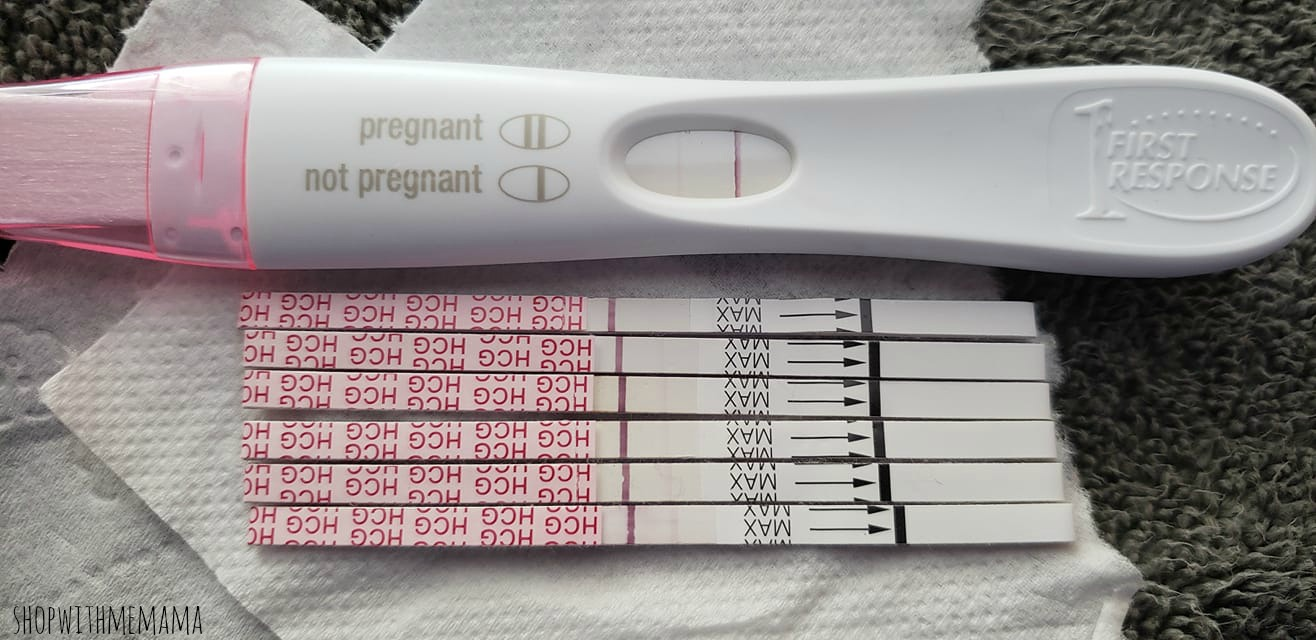 positive pregnancy tests
