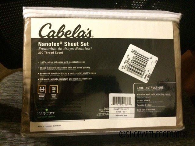 Cabela's Nanotex 300-Thread-Count Sheet Set