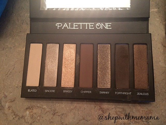 Younique Moodstruck Addiction Shadow Palette One