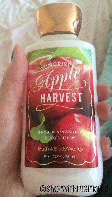 Bath & Body Works Shea & Vitamin E Lotion Suncrisp Apple Harvest