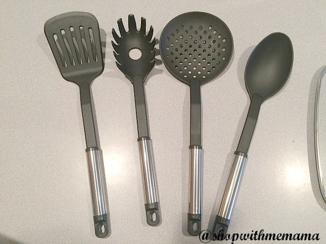 Make Easy Meals In Just One Pan Copper Chef 4-piece utensil set