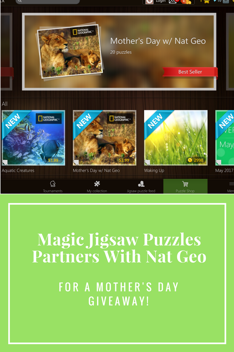 Magic Jigsaw Puzzles Partners With Nat Geo For A Fun Giveaway!