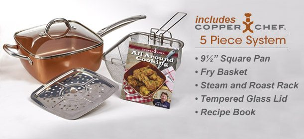 Copper Chef 5-Piece cooking Set