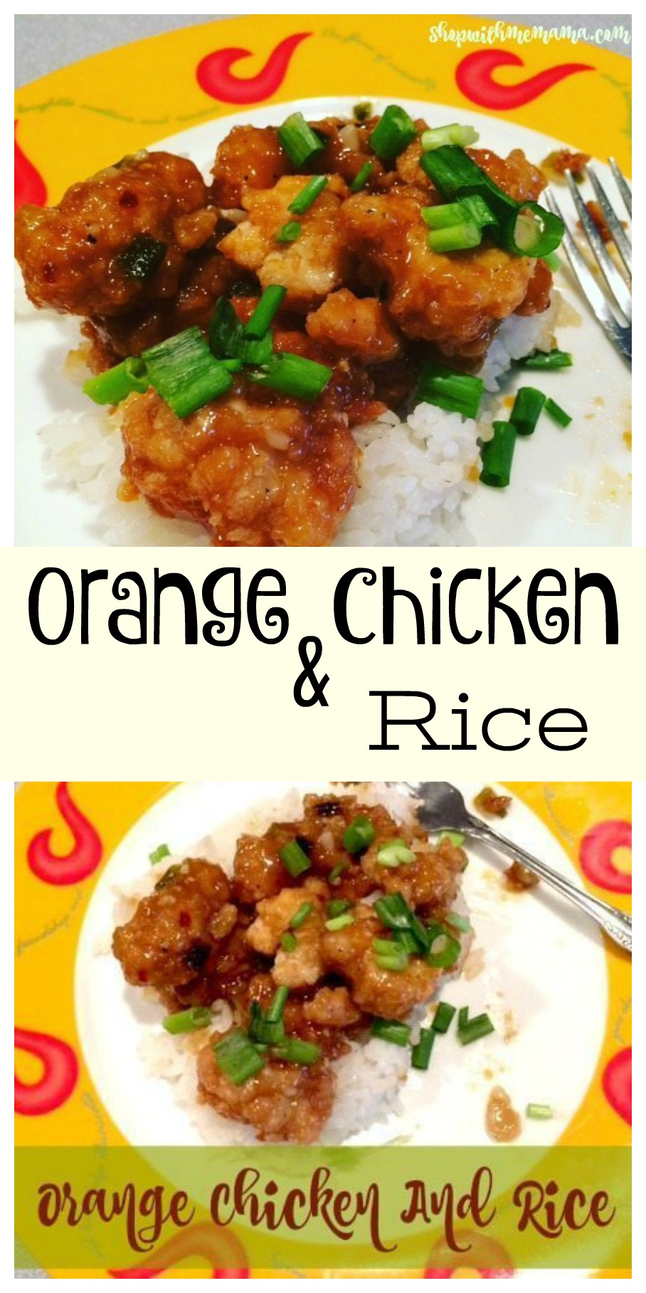 Delicious Orange Chicken and Rice