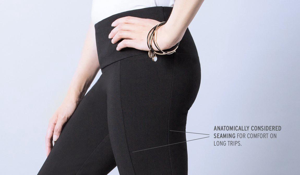 women s travel yoga pants are stylish and comfortable shop with me mama On travel yoga pants