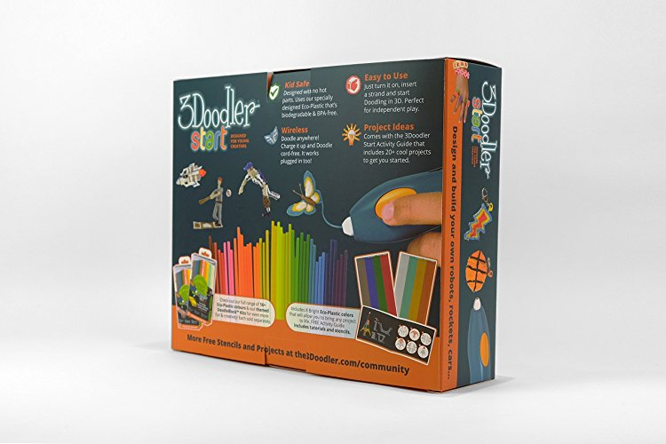 Kids' Doodles Come to Life with the 3Doodler Start