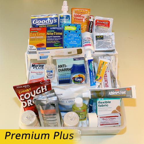 The College First Aid Kit Premium Plus Kit