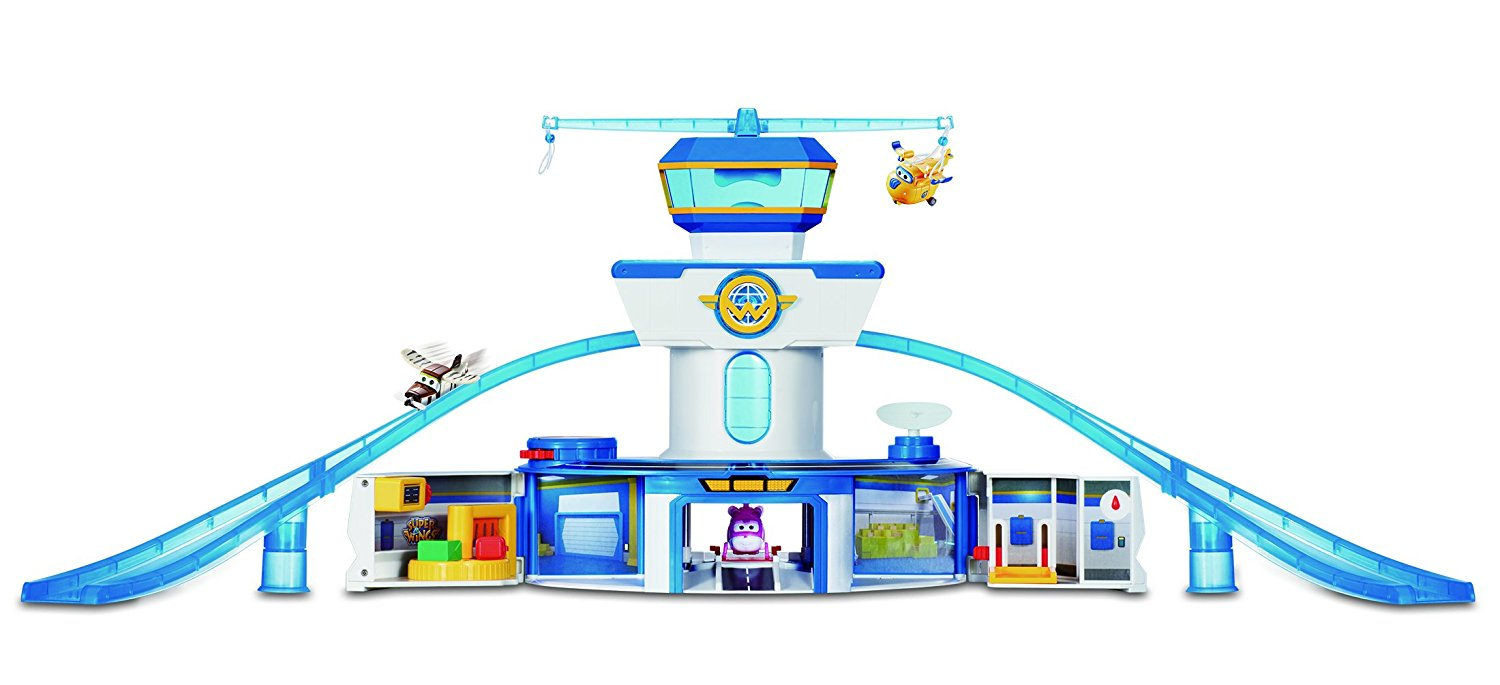 Super Wings - World Airport Playset Fun Toys For Toddlers And Kids