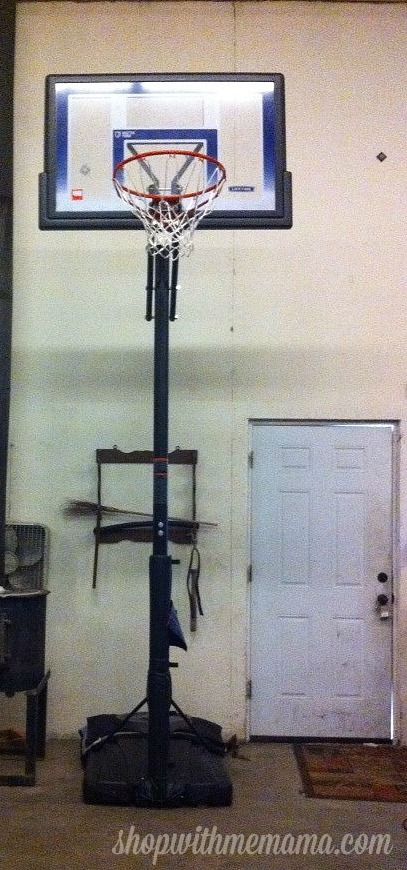 Courtside Portable Basketball Hoop