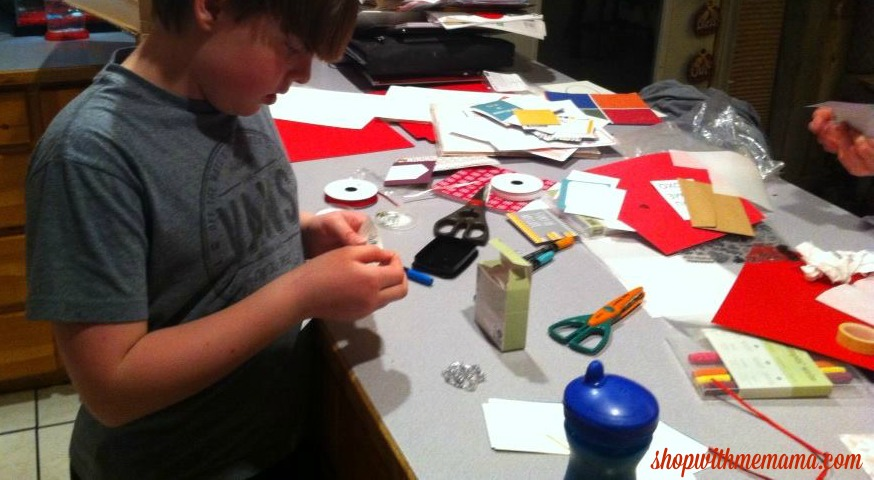 How To Make Handmade Valentine's With Stampin' Up