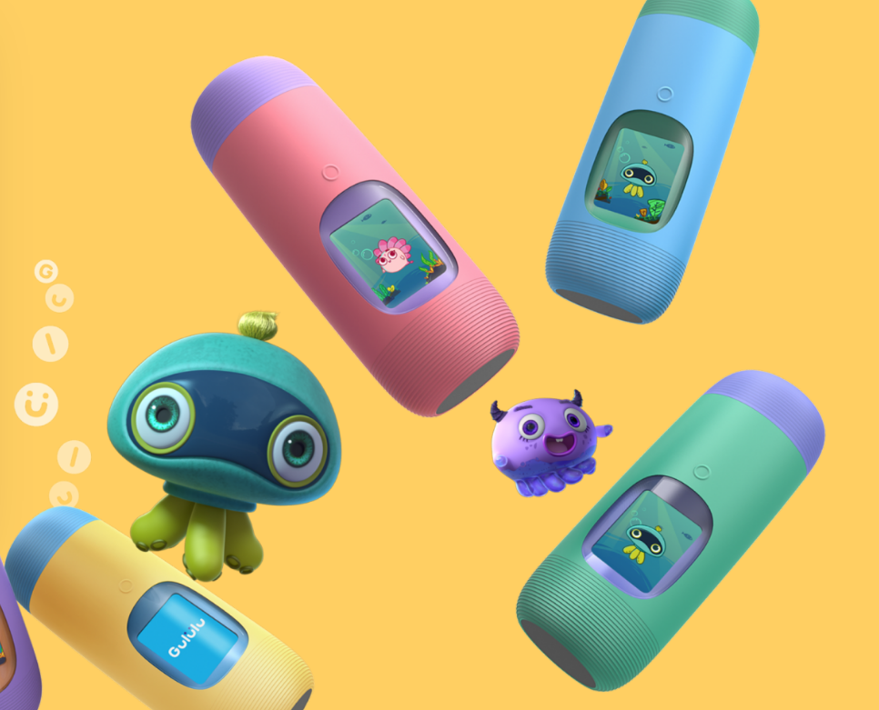 Interactive Bottle That Encourages Kids To Drink More Water