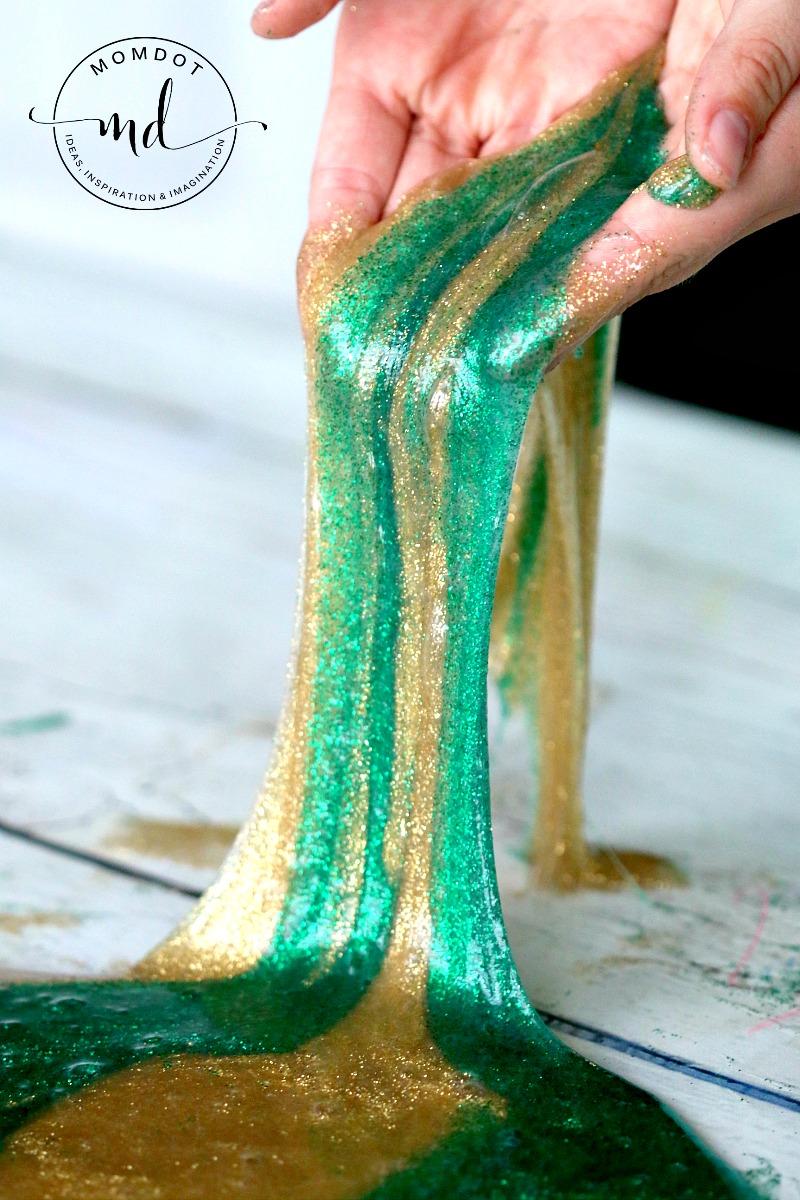Pot-O-Gold Slime Recipe Momdot