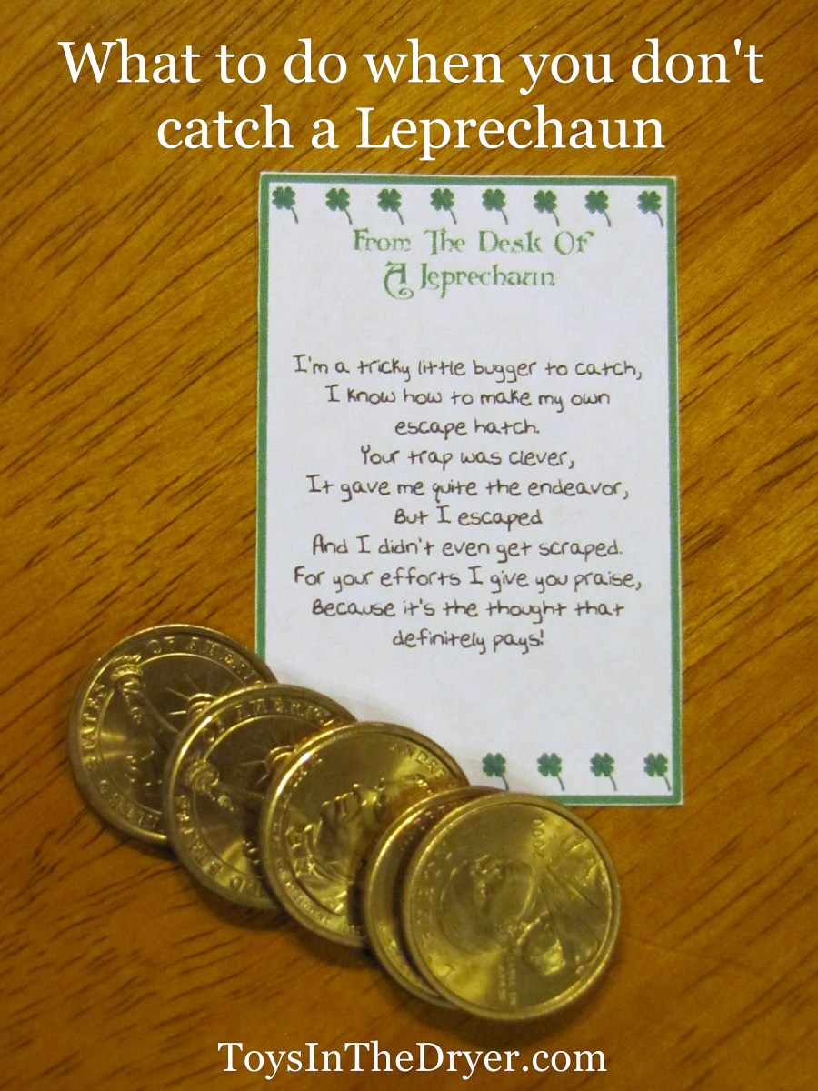 What to do when you don't catch a Leprechaun