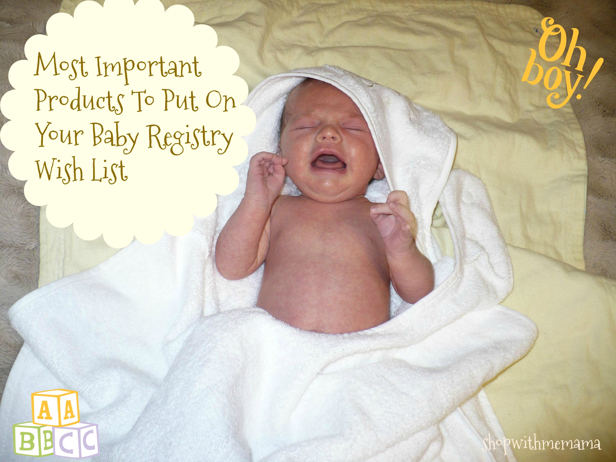 The Most Important Products To Put On Your Baby Registry Wish List