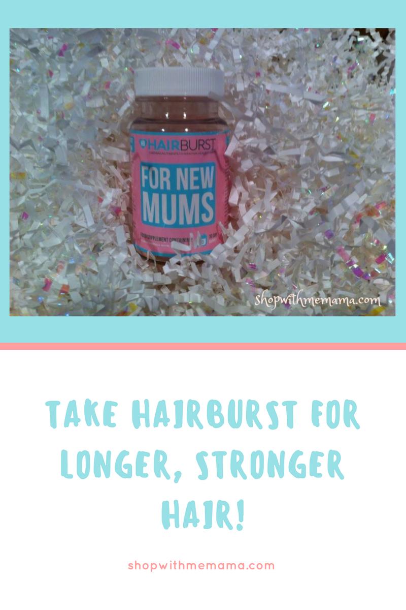 Take Hairburst For Longer, Stronger Hair!