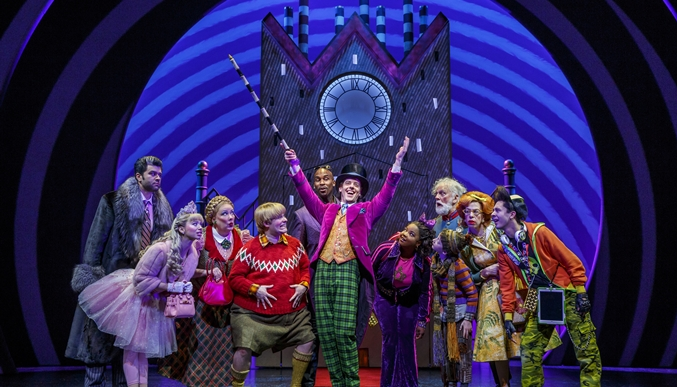 See Charlie & The Chocolate Factory & Stay At DoubleTree by Hilton!