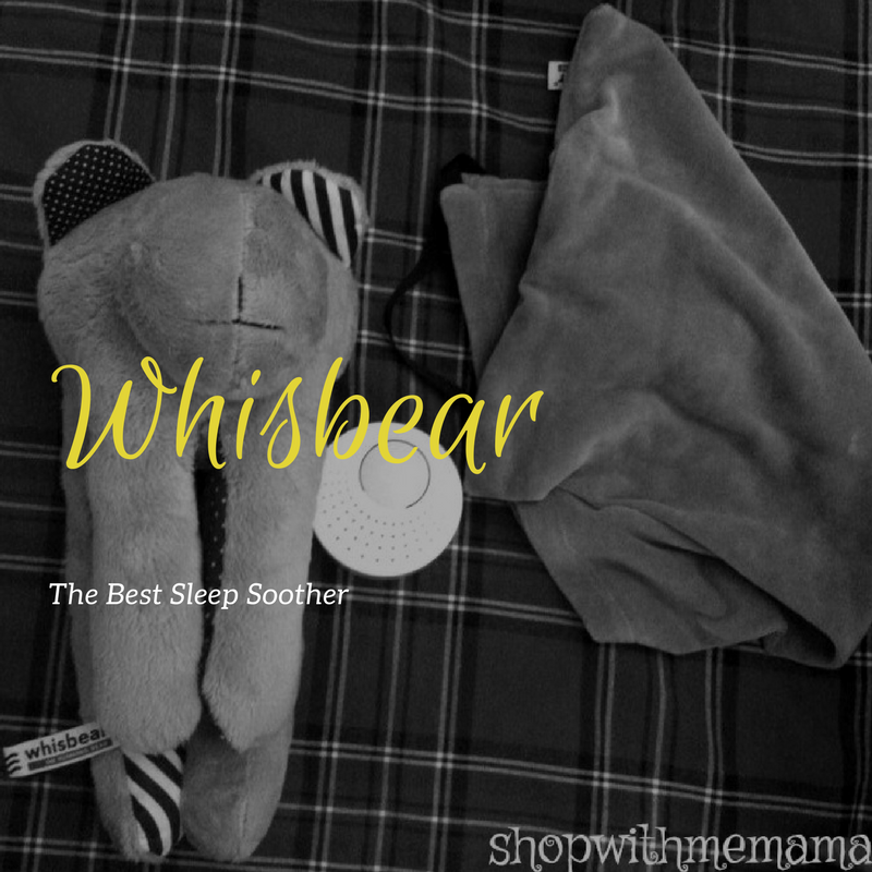 Whisbear Baby Sound Machine Is The Best Sleep Soother On The Market