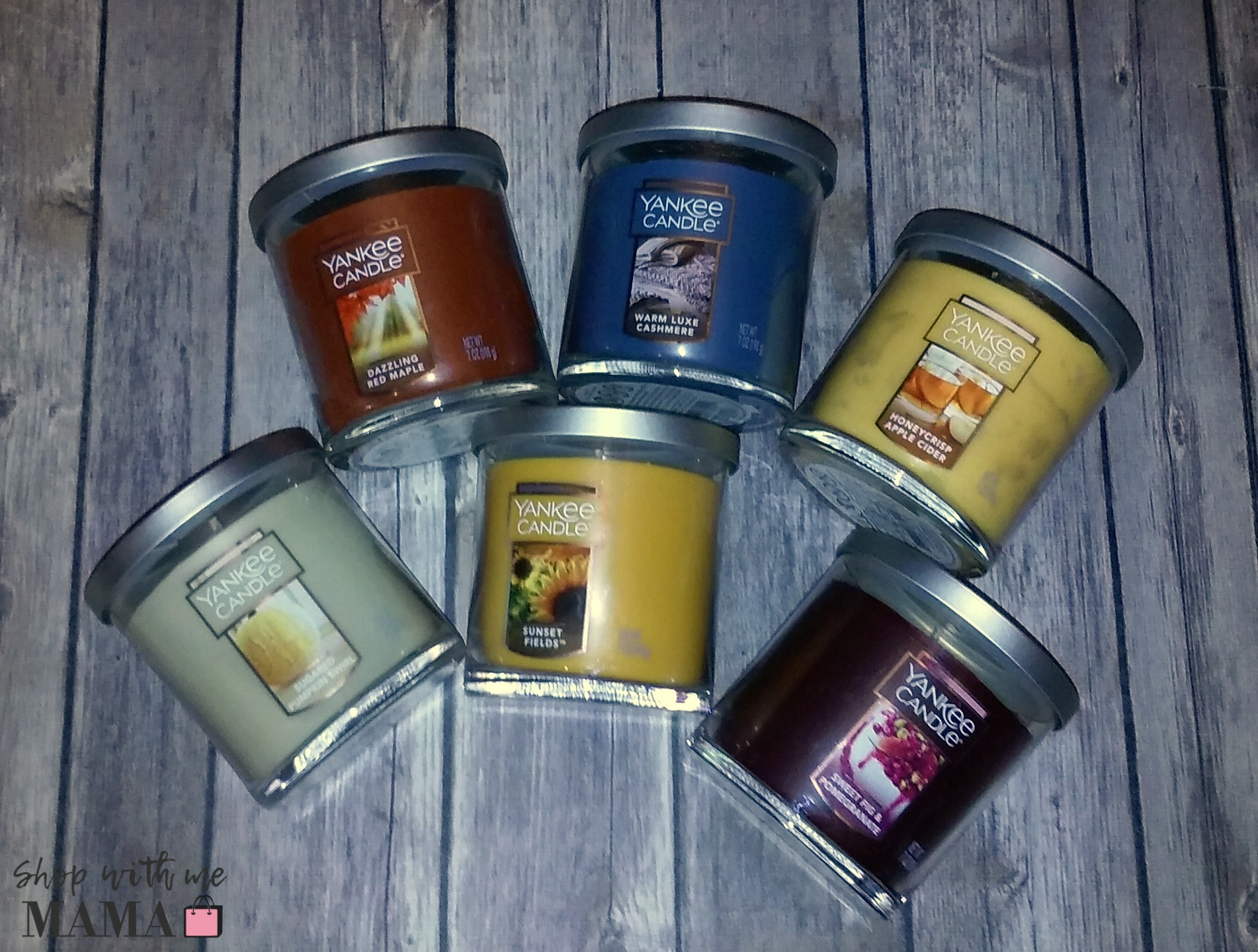 Yankee Candle New Fall Collection