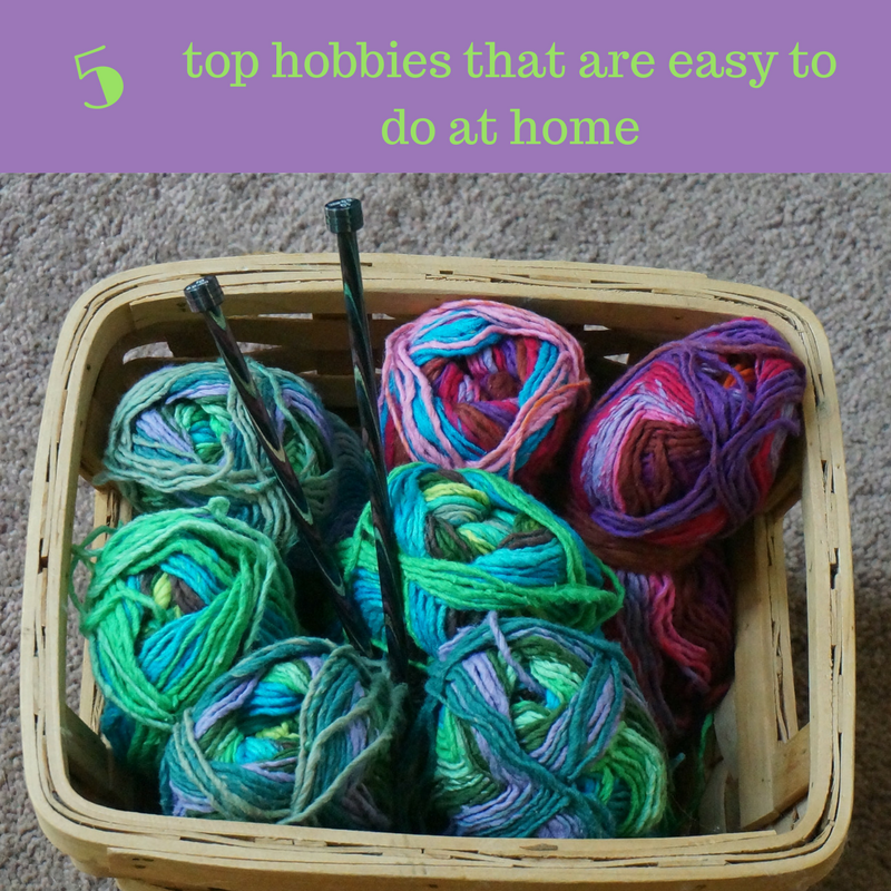 Five top hobbies that are easy to do at home