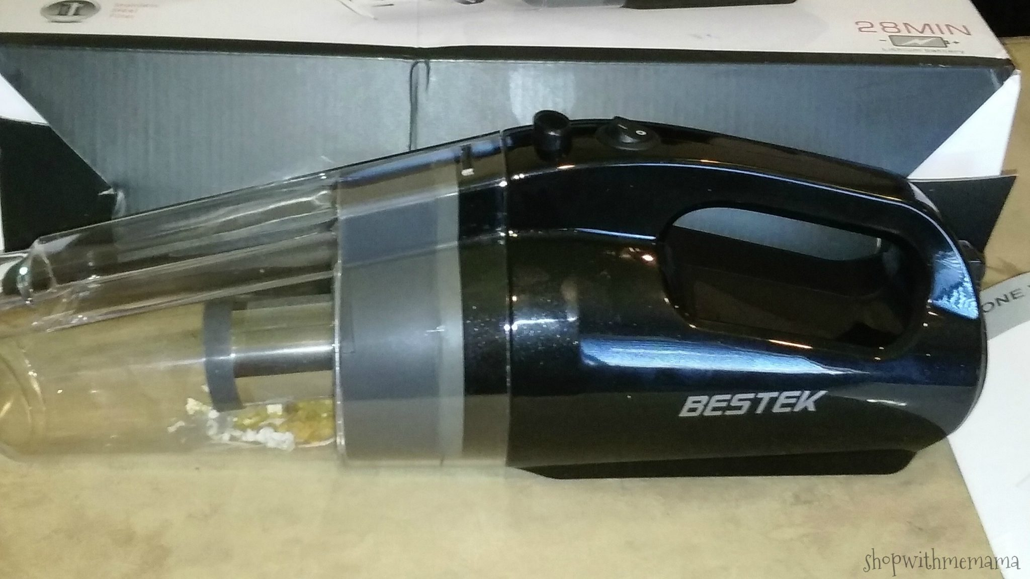 Get Your Home Clean With BESTEK Cordless Handheld Vacuum
