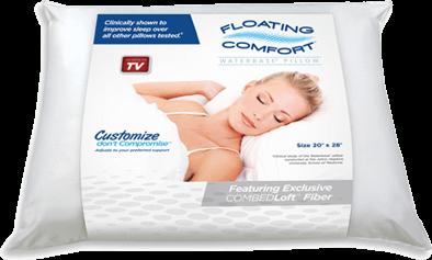 Mediflow's Floating Comfort Pillow