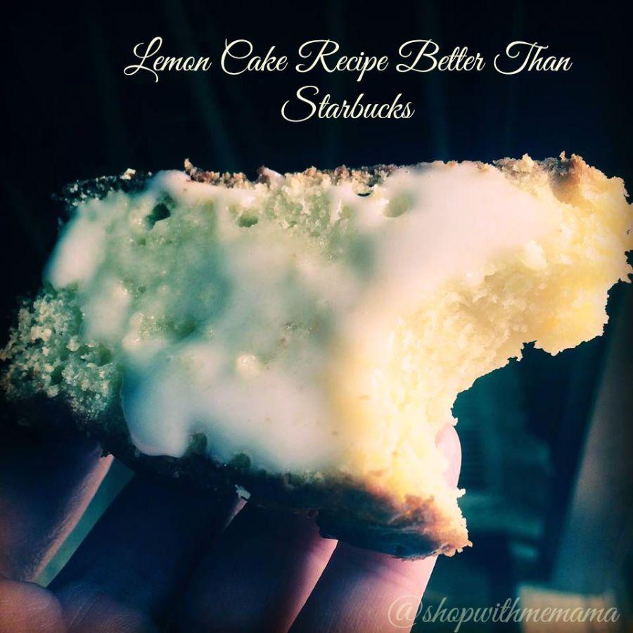 Better Than Starbuck Lemon Cake