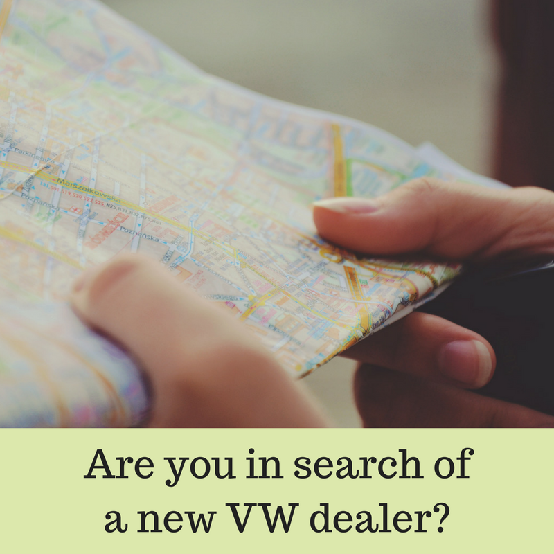 Are you in search of a new VW dealer