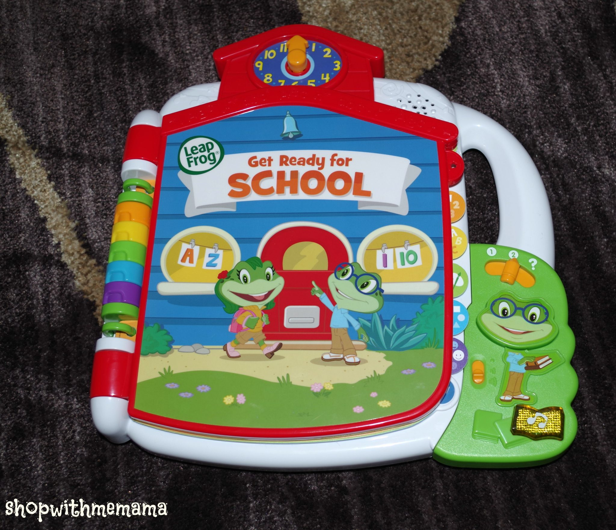 Tad's Get Ready for School Book By LeapFrog