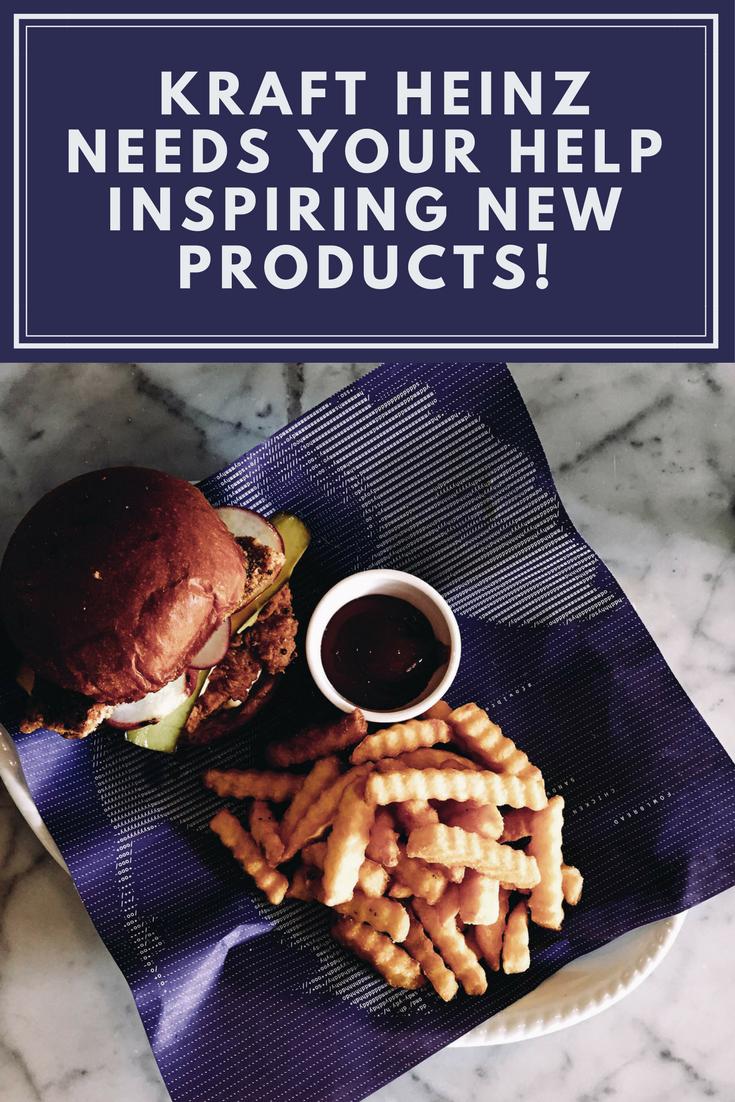 Kraft Heinz Needs Your Help Inspiring New Products!