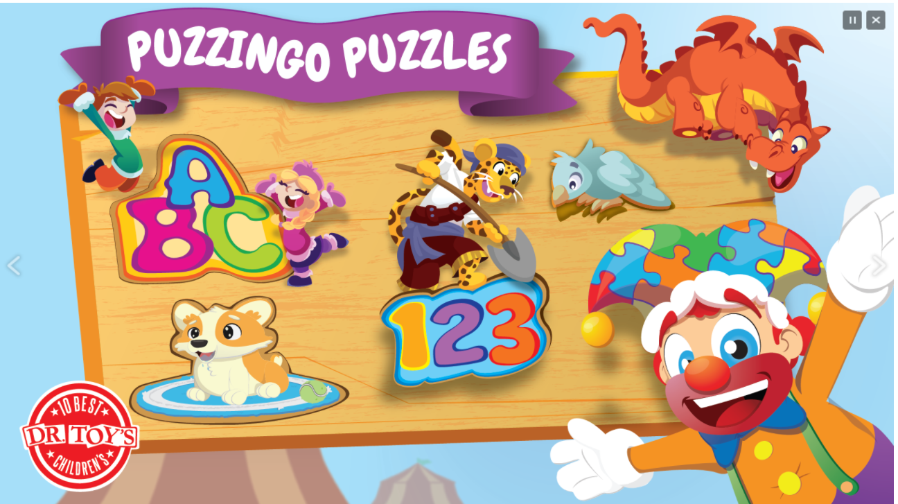 Puzzingo Kids Learning Puzzles