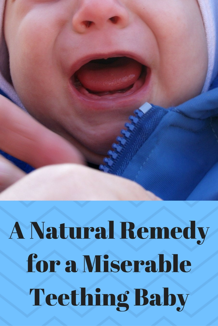 A Natural Remedy for a Miserable Teething Baby