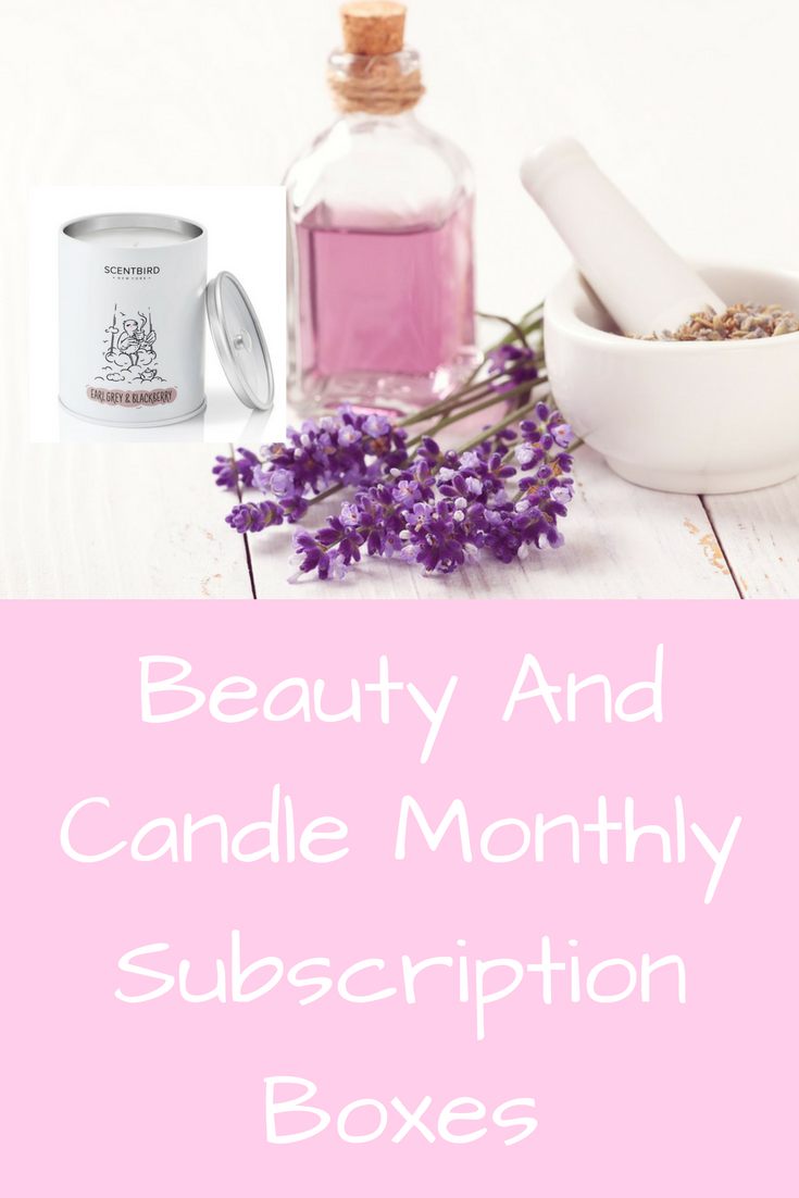 Beauty And Candle Monthly Subscription Boxes