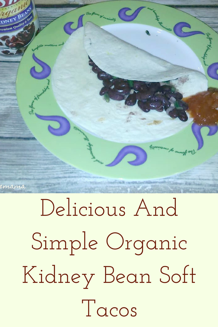 Delicious And Simple Organic Kidney Bean Soft Tacos