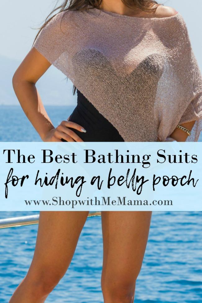 4 Swimsuits hide belly pooch